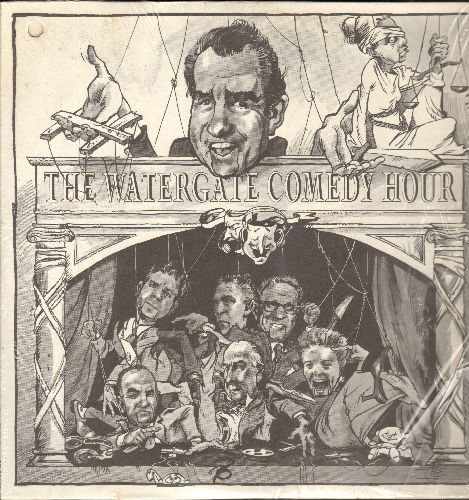 Various Artists - The Watergate Comedy Hour (vinyl LP record) - NM9/EX8 - LP Records