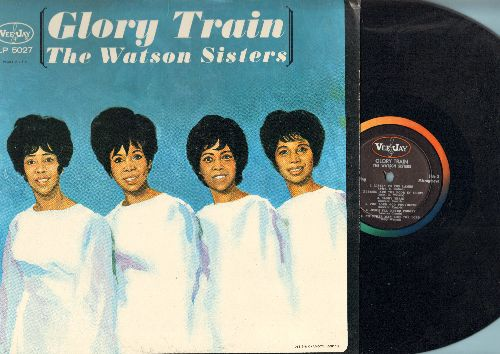 Watson Sisters - Glory Train: He Lives, Mount Olive, Listen To The Lambs, The Lord God Provideth (vinyl MONO LP record) - NM9/EX8 - LP Records