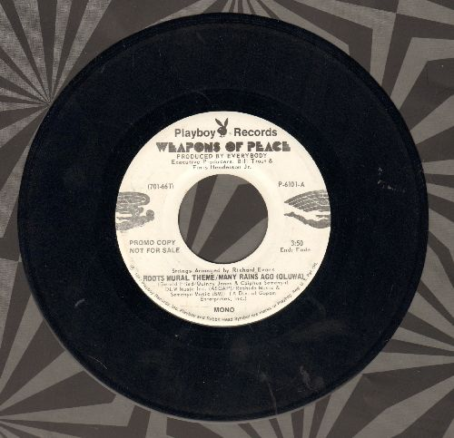 Weapons Of Peace - Roots Mural Theme/Many Rains Ago (Oluwa) (DJ advance pressing with MONO and STEREO version) - NM9/ - 45 rpm Records