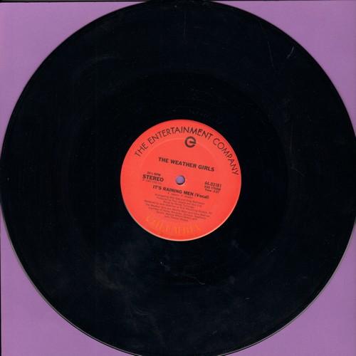 Weather Girls - It's Raining Men (5:27 minutes Vocal)/(5:29 minutes Instrumental) (12 inch 33rpm vinyl Maxi Single) (DANCE CLUB CLASSIC!) - NM9/ - Maxi Singles