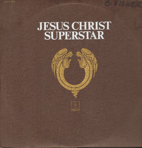 Webber, Andrew Lloyd - Jesus Christ Superstar - A Rock Opera (2 vinyl STEREO LP record, gate-fold cover) - NM9/VG7 - LP Records