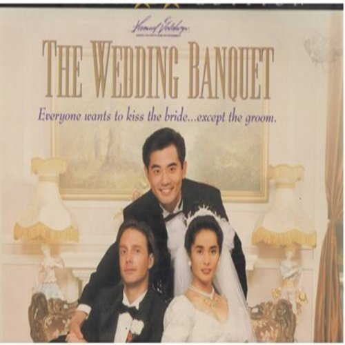 Wedding Banquet - The Wedding Banquet - Widescreen Edition LASER DISC of the Gay-Themed Cult Classic (This is a LASER DISC, NOT any other kind of media!) - NM9/NM9 - Laser Discs