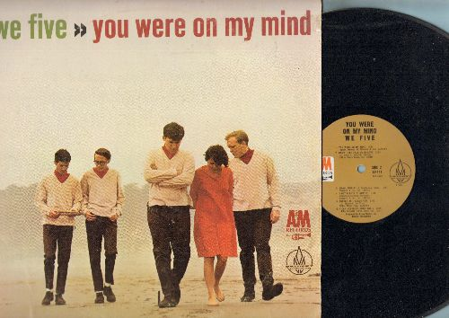 We Five - You Were On My Mind: Somehwere Beyond The Sea, Softly As I Leave You, My Favorite Things (vinyl MONO LP record) - NM9/EX8 - LP Records