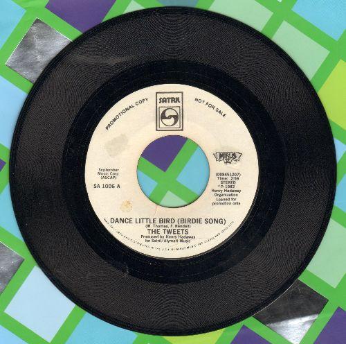 Tweets - Dance Little Bird (Chicken Dance) (PARTY FAVORITE!)/Mellow Terrain (DJ advance pressing) - EX8/ - 45 rpm Records