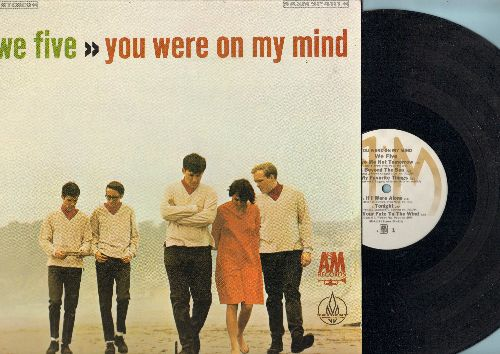We Five - You Were On My Mind: Somewhere Beyond The Sea, My Favorite Things, Softly As I Leave You (Vinyl STEREO LP record, re-issue of vintage recordings) - NM9/NM9 - LP Records