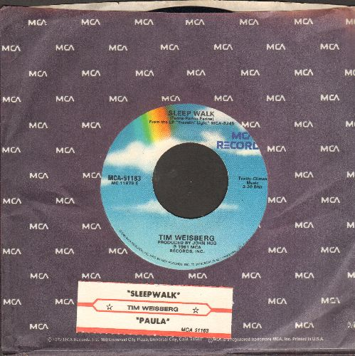 Weisberg, Tim - Sleep Walk/Paul (with juke box label and MCA company sleeve) - NM9/ - 45 rpm Records