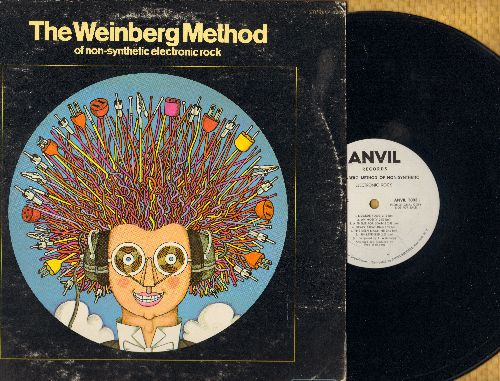 The Weinberg Method Of Non-Synthetic Electronic Rock - The Weinberg Method Of Non-Synthetic Electronic Rock - Futuristic Sounds, RARE DJ advance pressing of verey unusual Instrumental album (Vinyl LP record) - EX8/VG7 - LP Records