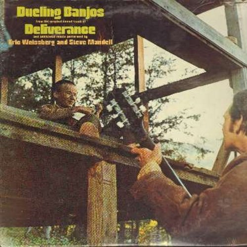 Weissberg, Eric & Steve Mandel - Dueling Banjos from the original sound track of Deliverance and additional music performed by Eric Weissberg and Steve Mandel (Vinyl STEREO LP record, SEALED, never opened!) - SEALED/SEALED - LP Records