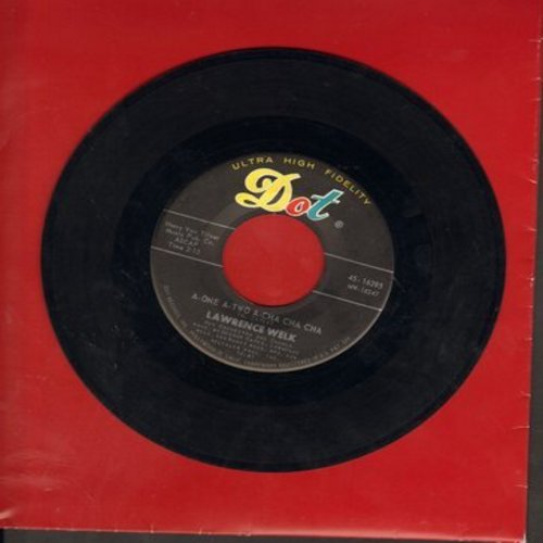 Welk, Lawrence Orchestra & Chorus - A-One A-Two A-Cha Cha Cha/You Gave Me Wings - NM9/ - 45 rpm Records