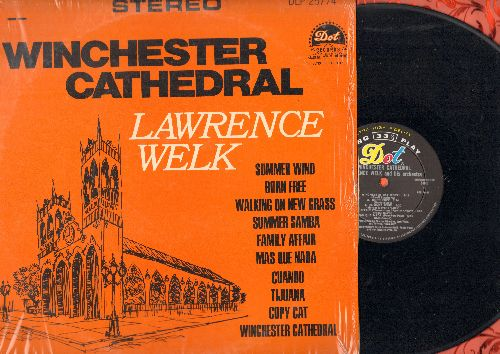 Welk, Lawrence  - Winchester Cathedral: Born Free, Summer Samba, Family Affair, Tijuana, Summer Wind (Vinyl STEREO LP record with shrink wrap) - NM9/NM9 - LP Records