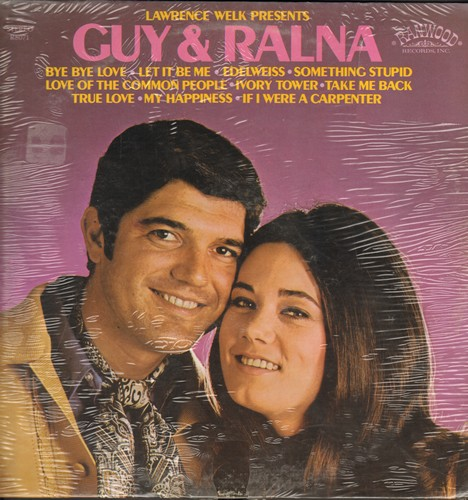 Guy & Ralna - Guy & Ralna: Bye Bye Love, Let It Be Me, Edelweiss, Something Stupid, True Love, My Happiness, Love Of The Common People (Vinyl STEREO LP record, SEALED, never opened!) - SEALED/SEALED - LP Records