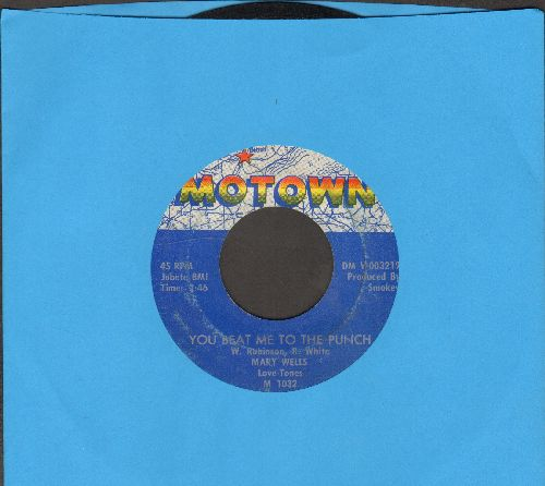 Wells, Mary - You Beat Me To The Punch/Old Love (Let's Try It Again) - EX8/ - 45 rpm Records