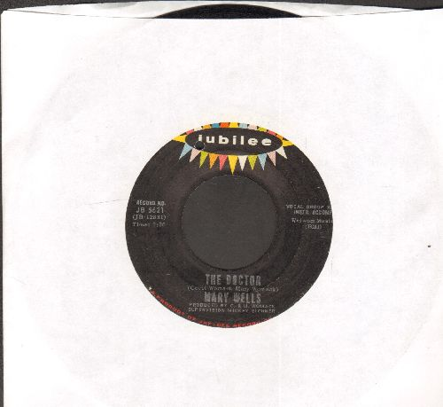 Wells, Mary - The Doctor/Two Lovers History (with juke box label) (bb) - EX8/ - 45 rpm Records