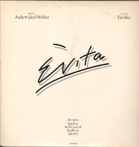 Evita - Evita - An Opera based on the life of Eva Peron 1919-1952 (2 vinyl LP records, gate-fold cover, 1976 first pressing) - NM9/VG7 - LP Records