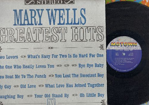 Wells. Mary - Greatest Hits: My Guy, The One Who Really Loves You, Two Lovers, You Beat Me To The Punch (vinyl STEREO LP record) - VG7/VG7 - LP Records