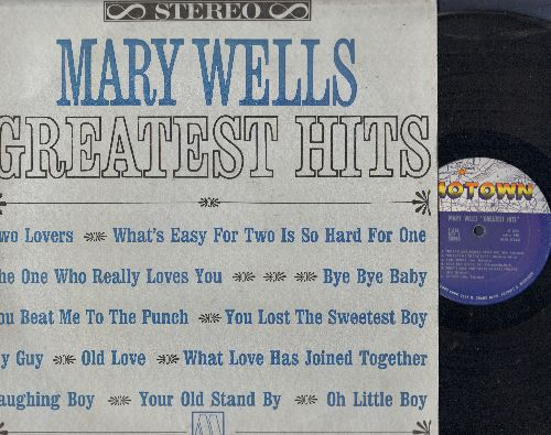 Wells, Mary - Greatest Hits: My Guy, You Beat Me To The Punch, Two Lovers, The One Who Really Loves You (vinyl STEREO LP record) - EX8/EX8 - LP Records