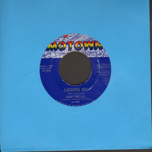 Wells, Mary - Two Wrongs Don't Make A Right/Laughing Boy (with juke box label) - NM9/ - 45 rpm Records