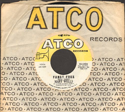 Wells, Mary - Me And My Baby/Fancy Free (with Atco company sleeve) (bb) - EX8/ - 45 rpm Records