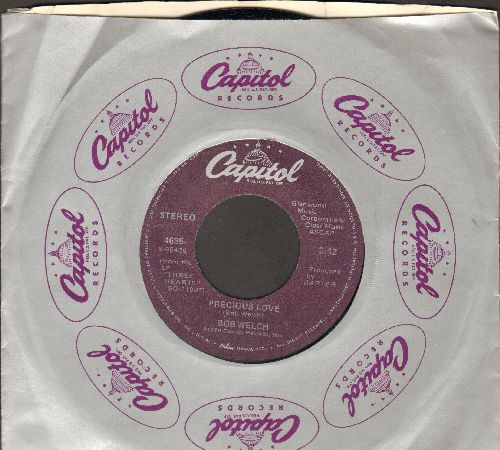 Welch, Bob - Precious Love/Something Strong (MINT condition with Capitol company sleeve)(sos) - M10/ - 45 rpm Records
