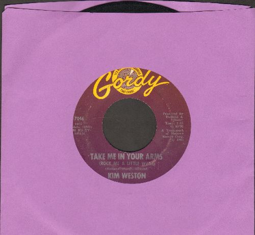 Weston, Kim - Take Me In Your Arms (Rock Me A Little While)/Don't Compare Me With Her - VG6/ - 45 rpm Records