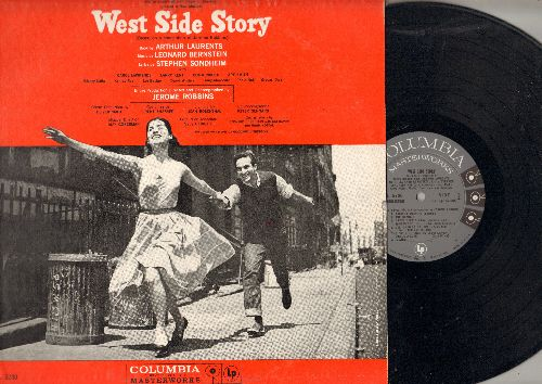 Original Cast - West Side Story - Original cast recording, Music by Leonard Bernstein, Lyrics by Stephen Sondheim (vinyl MONO LP record) - NM9/NM9 - LP Records