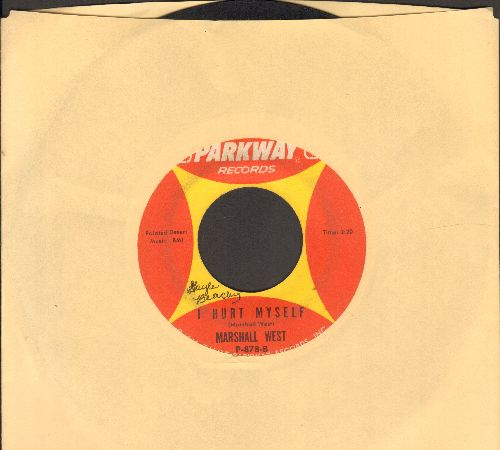 West, Marshall - I Hurt Myself/This House Is Gonna Live (minor wol) - VG7/ - 45 rpm Records