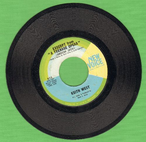 West, Keith - Exerpt From -A Teenage Opera-/Theme From -A Teenage Opera- - NM9/ - 45 rpm Records