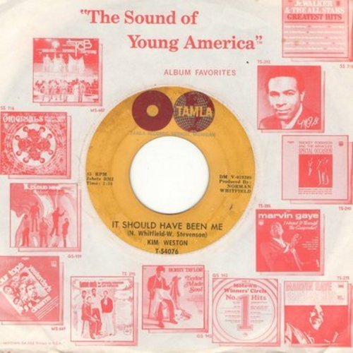 Weston, Kim - It Should Have Been Me/Love Me All The Way (with Motown company sleeve) - VG7/ - 45 rpm Records