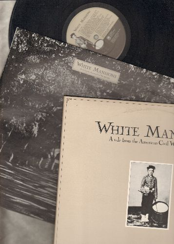 White Mansions - A Tale From The American Civil War 1861-1865: Story To Tell, The Union Mere & Confederate Grey, Noone Would Believe A Summer Could Be So Cold (vinyl STEREO LP record, gate-fold cover with BONUS picture booklet) - NM9/EX8 - LP Records
