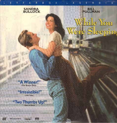 While You Were Sleeping - While You Were Sleeping - LASERDISC of the Romantic Comedy starring Sandra Bullock, Letterbox Format. - NM9/NM9 - LaserDiscs