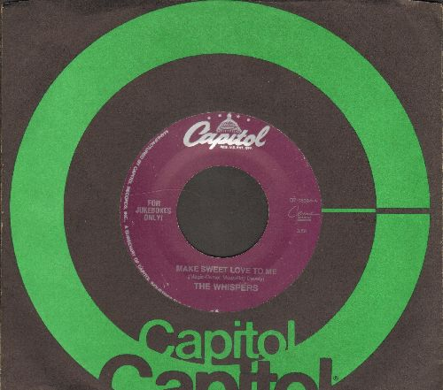 Whispers - Make Sweet Love To Me/My Funny Valentine (with Capitol company sleeve) - NM9/ - 45 rpm Records