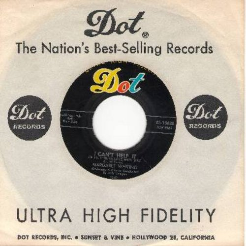 Whiting, Margaret - I Can't Help It (If I'm Still In Love With You)/That's Why I Was Born (with vintage Dot company sleeve) - EX8/ - 45 rpm Records