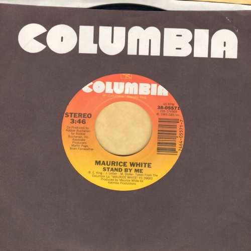 White, Maurice - Stand By Me/Can't Stop Love  - NM9/ - 45 rpm Records