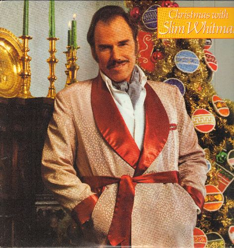 Whitman, Slim - Christmas With Slim Whitman: Let There Be Peace On Earth (Let It Begin With Me), The First Noel, We Three Kings, White Christmas, Sleep My Child (Vinyl STEREO LP record) - NM9/EX8 - LP Records