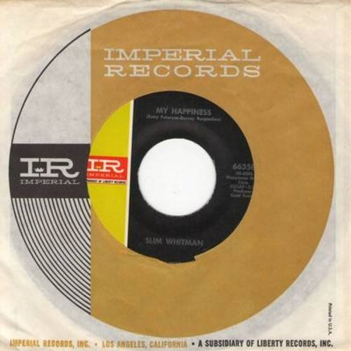 Whitman, Slim - My Happiness/Promises (with Imperial company sleeve) - NM9/ - 45 rpm Records