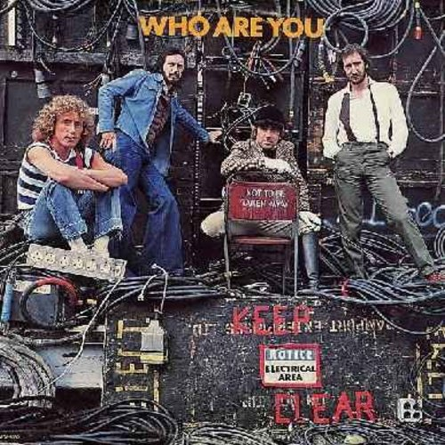 Who - Who Are You: Had Enough, Sister Disco, Guitar And Pen, Love Is Coming Down (Vinyl LP record, small factory cut upper left cover) - EX8/EX8 - LP Records