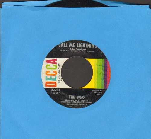 Who - Call Me Lightning/Dr. Jekyll & Mr. Hyde (with Decca company sleeve) - VG7/ - 45 rpm Records