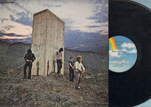 Who - Who's Next: Baba O'Riley, Song Is Over, Getting In Tune, Won't Get Fooled Again (vinyl LP record, 1980 pressing) - VG7/VG7 - LP Records