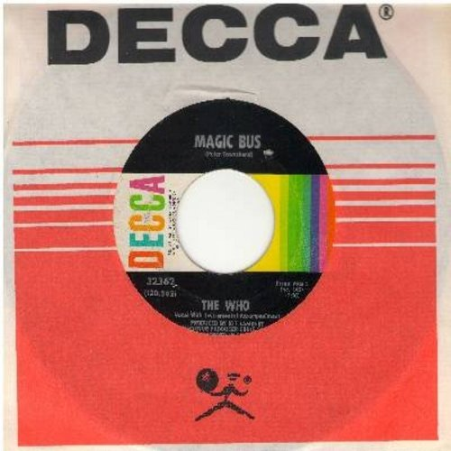 Who - Magic Bus/Someone's Coming (with Decca company sleeve) (bb) - EX8/ - 45 rpm Records