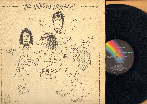 Who - The Who By Numbers: Squeeze Box, Imagine A Man, Success Story, In A Hand Or A face (vinyl LP record) - EX8/EX8 - LP Records