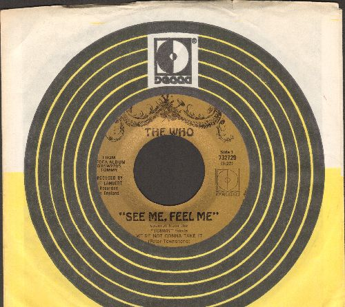 Who - See Me, Feel Me/Overture From Tommy (with company sleeve, bb) - NM9/ - 45 rpm Records