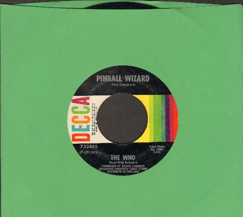 Who - Pinball Wizard/Dogs Part Two - EX8/ - 45 rpm Records