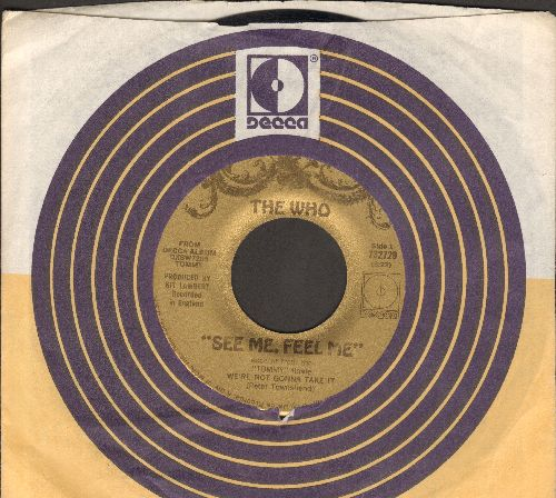 Who - See Me, Feel Me/Overture From Tommy (with company sleeve) - EX8/ - 45 rpm Records