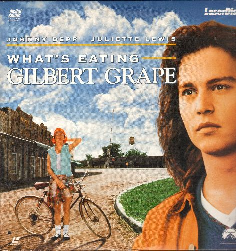 What's Eating Gilbert Grape - What's Eating Gilbert Grape - LASERDISC version of ther Cult Classic starring Johnny Depp and Juliette Lewis, featuring Leonardo DiCaprio. - NM9/EX8 - LaserDiscs