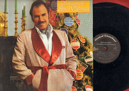 Whitman, Slim - Christmas With Slim Whitman: White ChristmasLet There Be Peace On Earth, The First Noel, Where Is The Christ In Christmas (Vinyl STEREO LP record) - EX8/NM9 - LP Records
