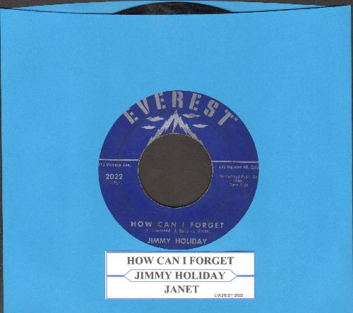 Holiday, Jimmy - How Can I Forget/Janet (with juke box label) - EX8/ - 45 rpm Records