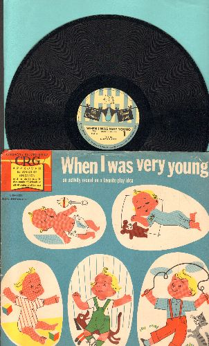 Rose, Norman - When I Was Very Young (10 inch 78 rmp record with picture sleeve) - NM9/EX8 - 78 rpm