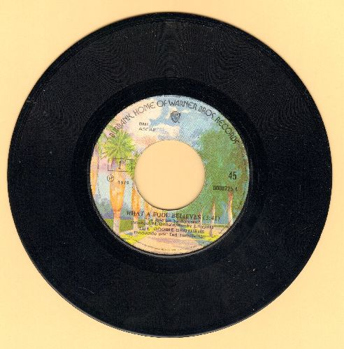 Doobie Brothers - What A Fool Believes/Don't Stop To Watch The Wheels (Peruvian Pressing) - NM9/ - 45 rpm Records