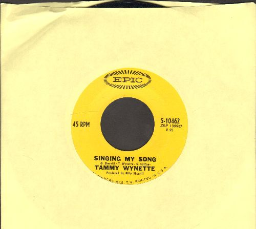 Wynette, Tammy - Singing My Song/Too Far Gone - EX8/ - 45 rpm Records