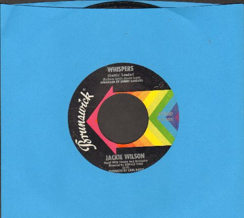 Wilson, Jackie - Whispers (Getting' Louder)/The Fairest Of Them All (bb, wol) - EX8/ - 45 rpm Records